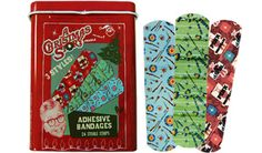 A CHRISTMAS STORY BANDAGES  This holiday season you could use regular old boring bandages to cover your boo-boos... OR you could use bandages from your favorite holiday movie of all time!    Our Christmas Story Bandages come with three different styles, a Red Rider BB Gun, a giant pink bunny suit, and who could forget the fragile leg lamp! Fra-gee-lay? It must be Italian!  #methodholidayhappy