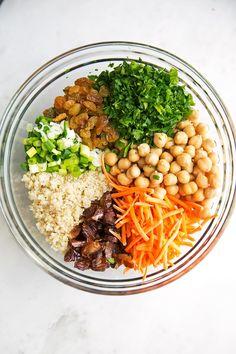 Moroccan Chickpea Quinoa Power Salad Recipe | Little Spice Jar