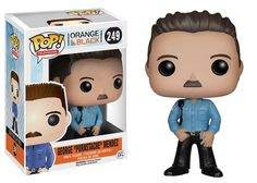 "Orange Is The New Black Funko POP Vinyl Figure George ""Pornstache"" Mendez"