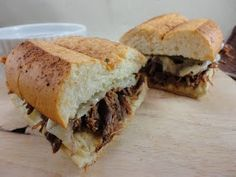 Eat Cake For Dinner: Crock Pot French Dip Sandwiches