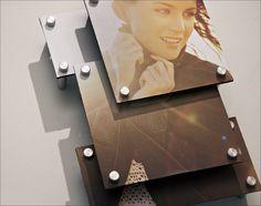 Layered photo display with #StandOffs