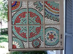 Recycled old window.