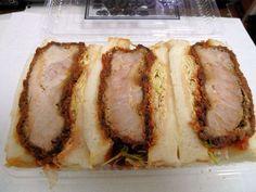 Tonkatsu, Pork Cutlets, Breakfast Set, Lunch Time, Baked Potato, Sandwiches, Food And Drink, Bread, Junk Food