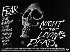 Night Of The Living Dead movie reprint Poster 24x36.