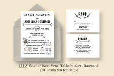 Alat antrian digitalalat antrian otomatisalat antrian surabaya fun wedding invitation suite by knotted design on creativemarket stopboris Gallery