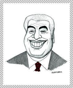 Gino Bramieri, 1928 - 1996. Attore comico, imitatore e barzellettista #albumMilano #Bramieri