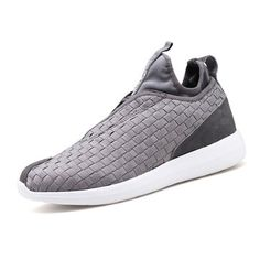 Men Weave Light Slip On Breathable Leisure Running Sport Casual Shoes - NewChic Mobile.