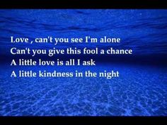 Cliff Richard--- Ocean Deep - with lyrics..........