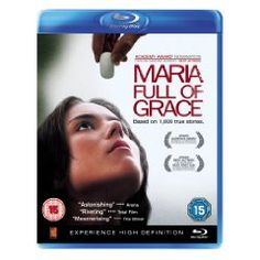 Maria Full of Grace [Blu-ray] (2004), (blu-ray, spanish movies, fantasy, dark fantasy, drugs, powerful, spanish, immigration, high definition, adventure)