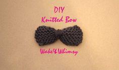 knit bow