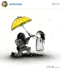 HK Umbrella Revolution Art by Quiteriequi