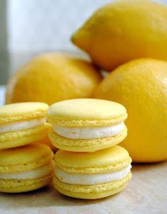 Retro Cake: Receta: Macarons de limón con Ganache montada de chocolate blanco al Limoncello