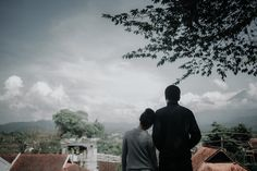 PreWedding on beautiful city of Magelang