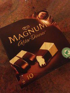 Magnum After Dinner İçindekiler (100 cal): Su, Şeker, Konsantre Yağsız Süt, Kakao Yağı, Kakao Kitlesi, Bitkisel Hindistan Cevizi Yağı, Tam Yağlı Süt Tozu, Süt Proteini, Emulgator, Kıvam Arttırıcı, Vanilya Taneciği (%0,1), Aroma, Renklendirici.
