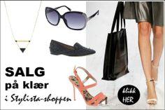 SALE salg shopping nettshopping salg på klær tilbud rabatt rabatter SALG i Stylista-shoppen!   Stylista.no