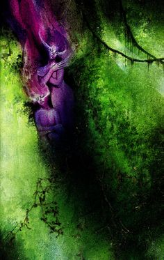 Dave McKean Black Orchid. My FAVORITE graphic novel and one of my favorite artists.