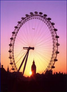 Beautiful London eye!