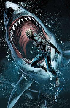 Aquaman Practicing for Injustice