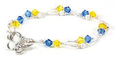 Jewelry Making Idea: Butterfly Daydreams Bracelet (eebeads.com)