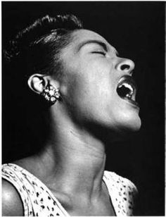 Billie sang behind the beat. That husky voice could effortlessly charm, soothe and wrench emotions from the hardest hearts. She wasn't top forty material in her day. Her biggest audience came to know her after her death in 1959.