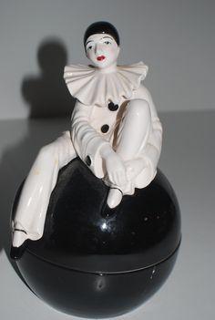 LEARANCE SALEArt Deco Pierrot Clown Mime
