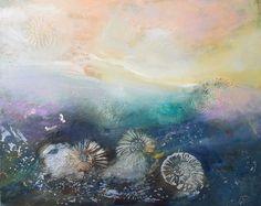 Na dnie morza- 40x50 oil on canvas