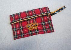 Pochette_tissu_écossais