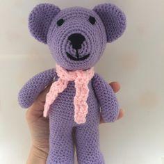 "12 Likes, 1 Comments - Raluca Drugan (@mygoldencrochet) on Instagram: ""#handmade #crochetbear #teddybear #babytoys #babyshower #babyshowerideas"""