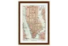 New York City Map on OneKingsLane.com