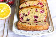 Whole Grain Orange Cranberry Bread