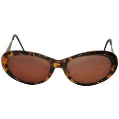 Preowned Yves Saint Laurent Tortoise Shell With Textured Gold Hardware  Sunglasses Estilo b1993a156490