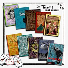 Set of 10 Book Covers | 21 Harry Potter School Supplies That Will Make You A Total Hermione