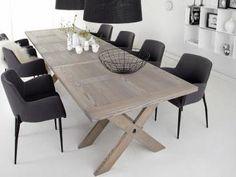 Matbord grålaserat från Nordiska hem