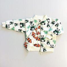 www.bonbonbleu.nl   Reversible summer jacket by @s_m_a_f_o_l_k  #pandas #pandalove #fish #fortheloveofprints #color #kindermode #kinderkleding #kidsfashion #småfolk #bonbonbleu