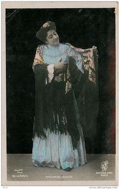 Rosario Soler   ARTISTE DE THEATRE , Rosario Soler , *5881