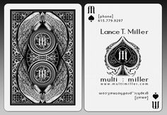 9 best playing business cards images on pinterest business cards multimiller playing card by multimiller on deviantart colourmoves