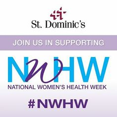 Join us in supporting National Women's Health Week! #NWHW