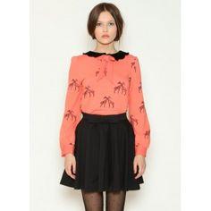 Falda Adriana Negra Lazo #top #retro #winter #2013 #Pepa Loves #sweater #invierno #nude #rosa  #shopping #fashion #woman #comprar #moda #mujer #jirafas #giraffe