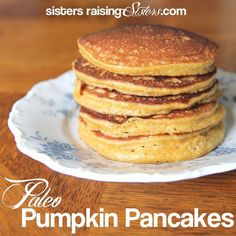 These paleo pumpkin pancakes are very simple and quick to make, freeze well and are sure to please.
