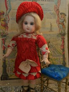 Nice French E.J. Bisque Bebe by Jumeau with Fabulous Costume from ~ WHEN DREAMS COME TRUE ~ found @Doll Shops United http://www.dollshopsunited.com/stores/whendreamscometrue/items/1301595/Nice-French-EJ-Bisque-Bebe-by-Jumeau-Fabulous-Costume #dollshopsunited