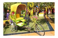 Colourful Mehendi by A New Knot sees Innovative Entertainment & Offbeat Decor Detailing - India News & Updates on EVENTFAQS