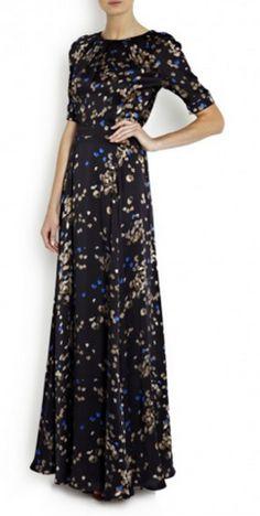 BEULAH - Rapunzel Blue Heart Gown - Designer Dress hire £79