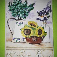 #art #pain #painting #flowers #kvet #kvety #hydrangea  #acrylics #acryl #colors #color #krasa #nice #blue #modra #white #love #smile #fantázia #fantasy #obrazok  #musicmyheart #vintage Painting Flowers, Acrylics, Hydrangea, Tapestry, Smile, Fantasy, Photo And Video, Colors, Blue
