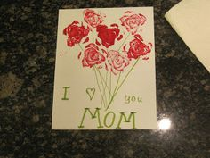 Easy & Inexpensive Mother's Day Craft for Kids to Make | jennyatdapperhouse.com