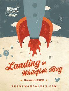 Wayne Koenig›Portfolio›The Roman Candle Pizza - Landing in Whitefish Bay