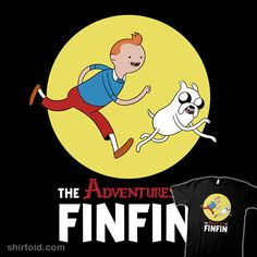 Adventure Time/The Adventures Of Tin Tin