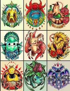 Pokemon Tattoo Designs on Behance