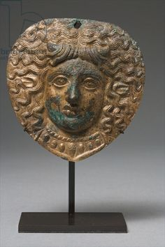 Greek, century BC) / Private Collection / Photo © Heini Schneebeli / The Bridgeman Art Library Medusa, Applique, Alternative, Lion Sculpture, Museum, Bronze, Statue, Portrait, Artist