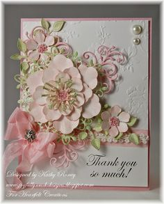 Heartfelt Creations Arianna Blooms Collection of stamps, dies and designer papers