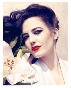 Plus que temps perdu: Eva Green by Camilla Akrans for Harper's Bazaar UK June 2011